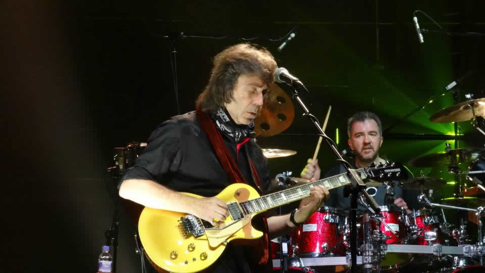 Steve Hackett with Gary O'Toole